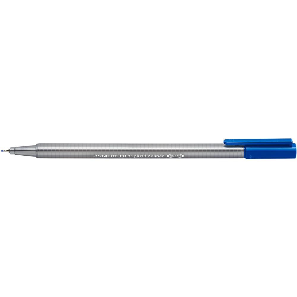 STAEDTLER TRIPLUS 334 Fineliner Blue Pack of 10