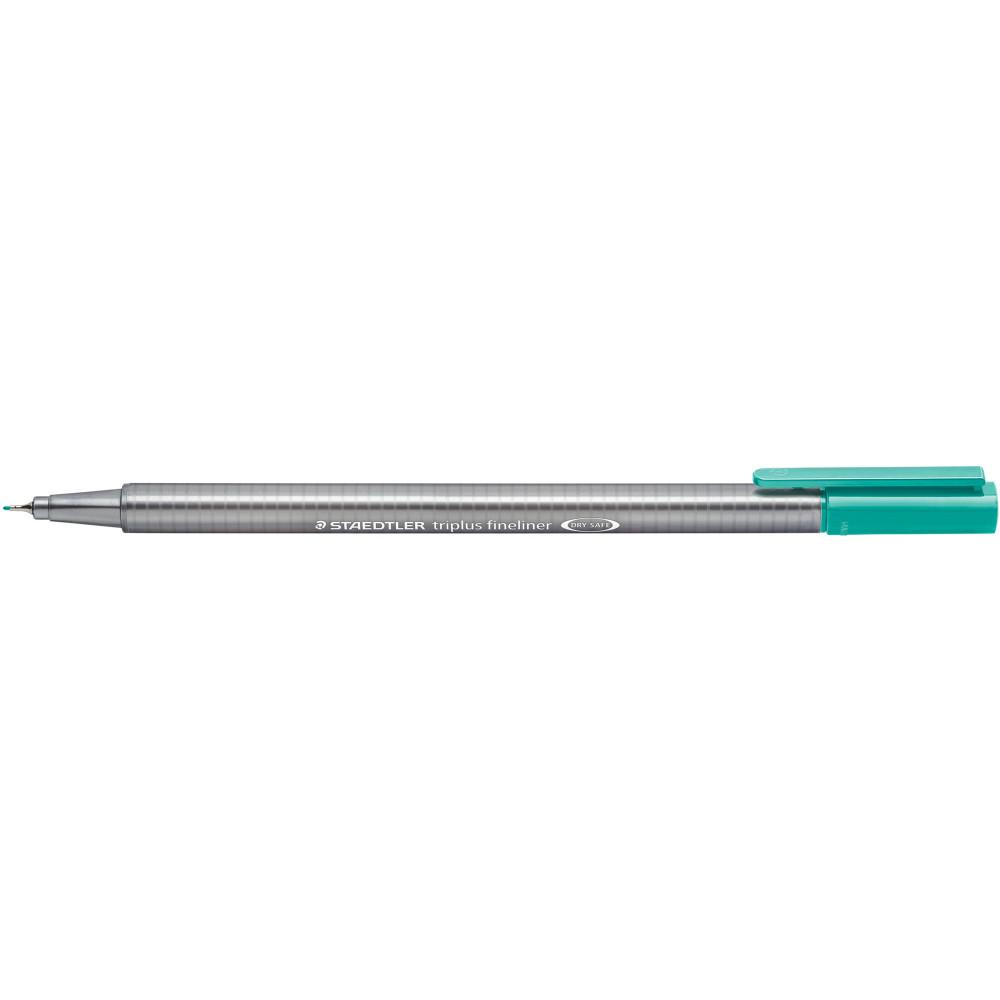 STAEDTLER TRIPLUS 334 Fineliner Turquoise Pack of 10