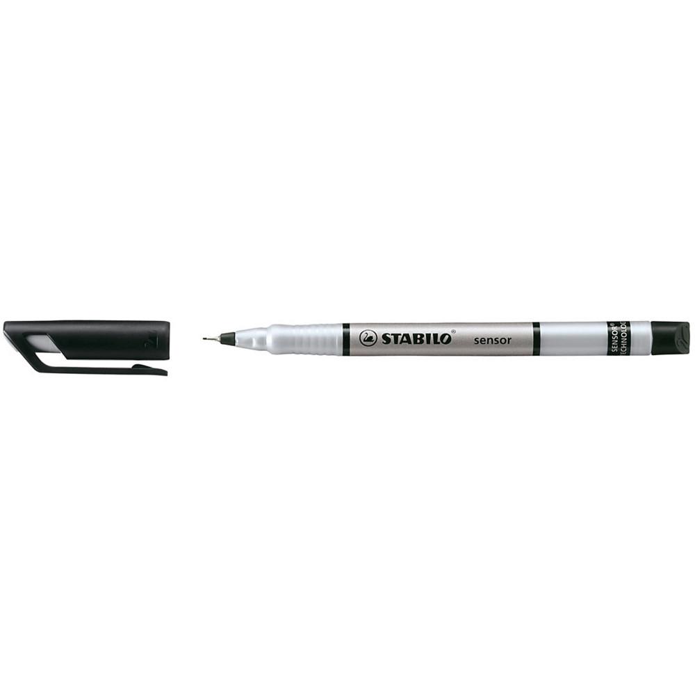STABILO SENSOR FINELINER 0.3mm Black 189/46