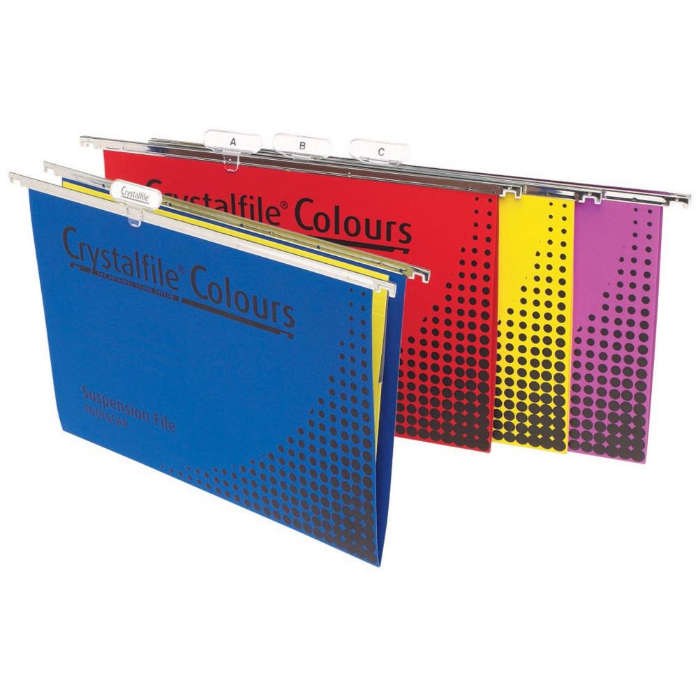 CRYSTALFILE COLOURS SUSP FILES Enviro F/C Complete Rainbow