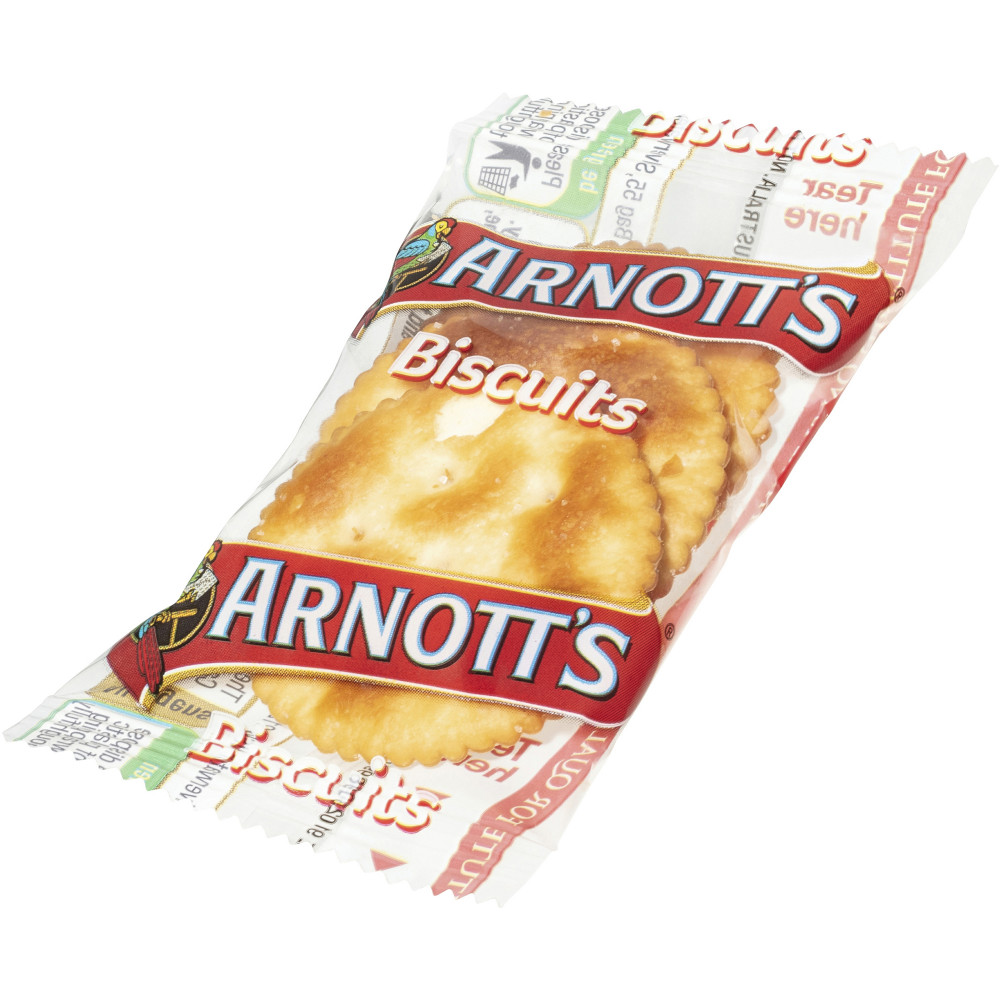 ARNOTTS BISCUITS P/CONTROL Jatz 11gm 3 Per pack Box of 150 Portions