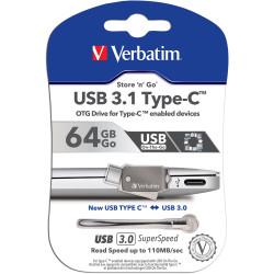 VERBATIM ON THE GO TYPE C TO Usb Drive 32Gb