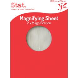 STAT MAGNIFYING SHEET 280mmx210mm