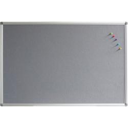 RAPIDLINE PINBOARD 1500mm W x 1200mm H x 15mm T Grey