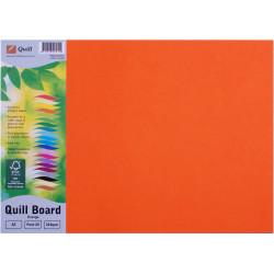 Quill Board 210GSM A3 Orange Pack 25