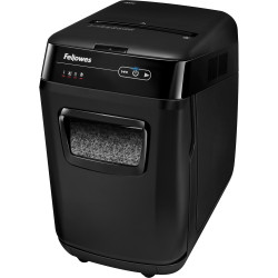 FELLOWES® SHREDDER 200M AutoMax AutoFeed Micro Cut Black