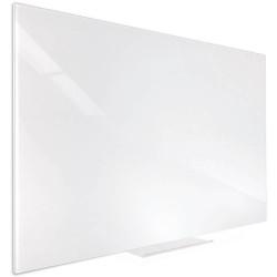 VISIONCHART ACCENT GLASS WHITEBOARD 900x600mm White