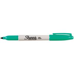 SHARPIE FINE POINT MARKER Permanent 1.0mm Fine Aqua