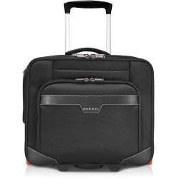 EVERKI JOURNEY LAPTOP TROLLEY ROLLING BRIEFCASE UP TO 16 Inch Black