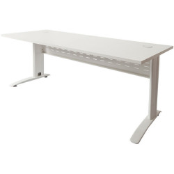 RAPID SPAN OPEN WORKSTATION 1500W x 700D x 730mmH NW with White Frame