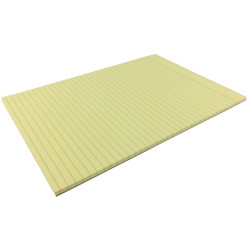 Writer Bond Pad A4 Double Sided Ruled Yellow 50 Sheets