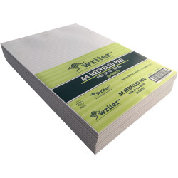 Writer Recycled Pad A4 Ruled 50 Sheets