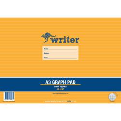 Writer Graph Pad A3 5mm 40 Sheets