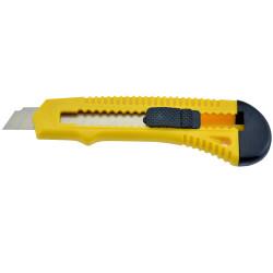 Italplast Cutting Knife General Purpose 18mm Yellow and Black