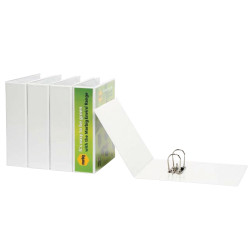 MARBIG INSERT LEVER ARCH FILE Clearview A4 White