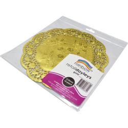 RAINBOW RETAIL DOYLEYS 215mm 15 Sheets Gold