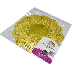 RAINBOW RETAIL DOYLEYS 265mm 10 Sheets Gold