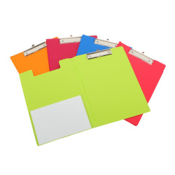 Bantex Fruits Clipfolder PVC A4 Assorted Pack of 10