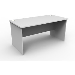 RAPID VIBE OPEN DESK D1500mm x W750mm Light Grey