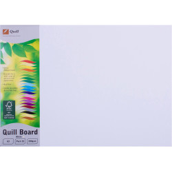 Quill Board 210GSM A3 White Pack 25