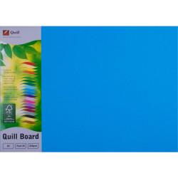Quill Board 210GSM A3 Marine Blue Pack 25