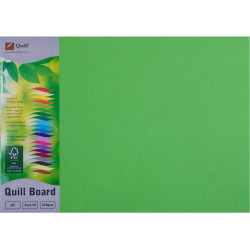 Quill Board 210GSM A3 Lime Pack of 25