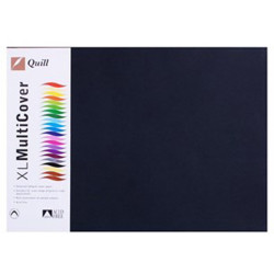 Quill Paper 125GSM A3 Black Pack of 500