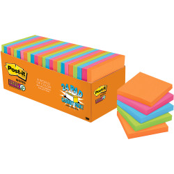 POST IT NOTES CABINET PACK Super Sticky 654 24SSAU CP