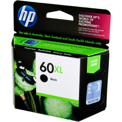 HP #60XL INKJET CARTRIDGE CC641WA, Black