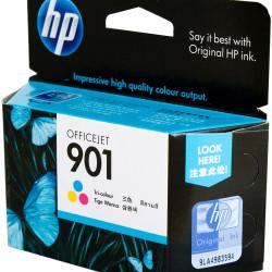 HP #901 INKJET CARTRIDGE CC656AA, Tricolor