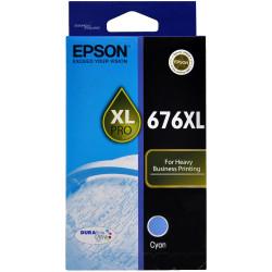 EPSON 676XL CYAN INK CARTRIDGE Workforce 4530, 4540