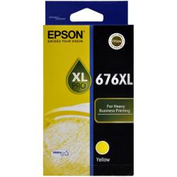 EPSON 676XL YELLOW INK CART Workforce 4530, 4540