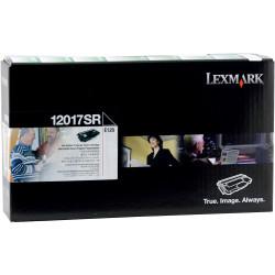 LEXMARK 12017SR TONER CART Prebate, Black
