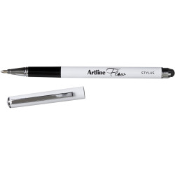 ARTLINE FLOW STYLUS PEN 1.0mm Ball Point Blue Metal Barrel