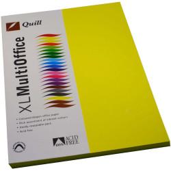 QUILL A4 XL MULTIOFFICE PAPER 80gsm Lemon