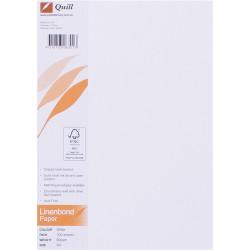QUILL A4 LINEN BOND PAPER 90gsm White