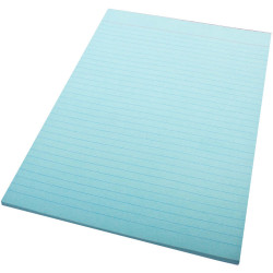 QUILL A4 70LF COLOUR BOND PADS Blue
