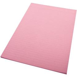 QUILL A4 70LF COLOUR BOND PADS Pink