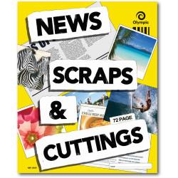 OLYMPIC SCRAP BOOKS 72Pg 400x325mm News Scraps