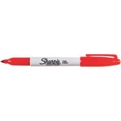 SHARPIE FINE POINT MARKER Permanent 1.0mm Fine Red UPC