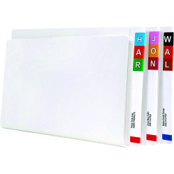 AVERY SHELF LATERAL FILES F/C & Spring Super Weight Wht