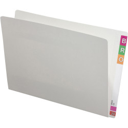AVERY LATERAL FILES Legal Extra Heavy Weight White