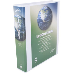 CUMBERLAND EARTHCARE BINDER Insert A4 4D Ring 40mm White