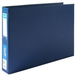 BANTEX PVC BINDERS A3 4D Ring 38mm Landscape Blue