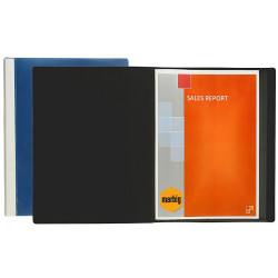 MARBIG CLEARVIEW DISPLAY BOOKS A4 24Pocket Black