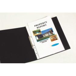 MARBIG COPYSAFE SHEET PROTECTR Economy A5 Low Glare Bx100