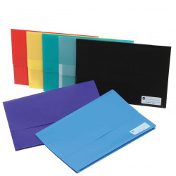 MARBIG POLYPICK WALLETS PP Foolscap Red