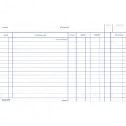 ZIONS 58RW SYSTEM CARDS Debit/Credit/Balance 5X8 White