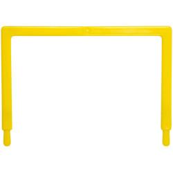 AVERY TUBECLIP FILE U PIECE Yellow