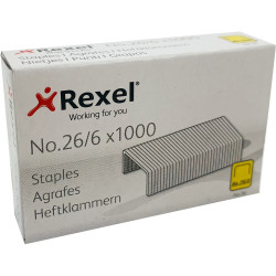 REXEL STAPLES No.56 26/6 BX1000